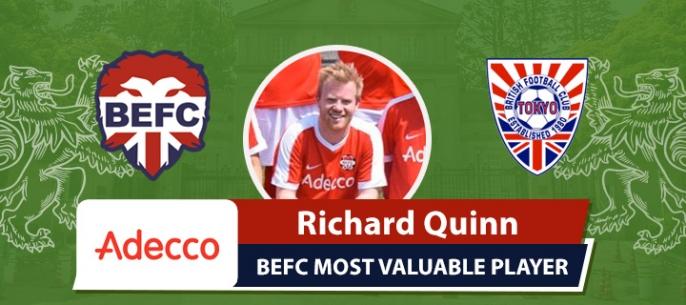 Adecco BEFC MVP vs BFC Vagabonds - Richard Quinn