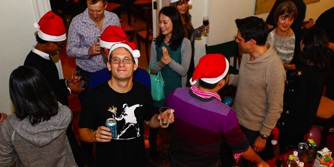 BEFC Christmas Party and Player Awards 2015 - Drinks