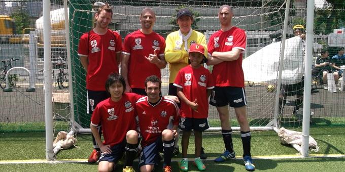 BEFC at IAJ Charity Futsal Competition