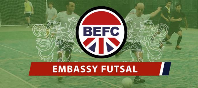 British Embassy Futsal Club Japan