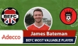 James Bateman Adecco Man of the Match King George