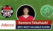 Adecco MVP BEFC vs Hibernian - Kentaro Takahashi