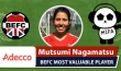 Adecco BEFC Most Valuable Player vs MIFA Mixed Red - Matsumi Nagamatsu