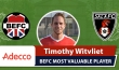 Adecco BEFC Most Valuable Player vs Sala - Timothy Witvliet