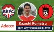 Kaz Komatsu Adecco MVP King George