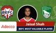 Adecco BEFC Most Valuable Player vs FC Sagamatha - Jaisal Shah