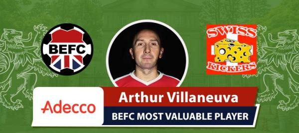 Adecco BEFC Most Valuable Player vs Swiss - Arthur Villaneuva
