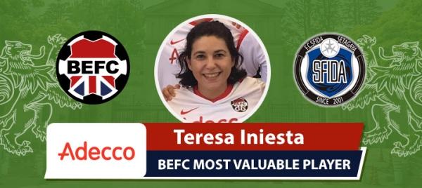 Adecco MVP BEFC Sfida Ladies Cup - Teresa Iniesta