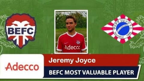 Jeremy Joyce Adecco MVP