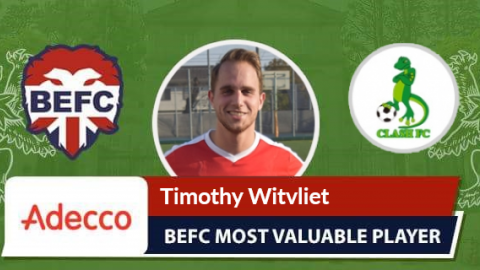 Timothy Witvliet Adecco MVP vs Oakwood Clash
