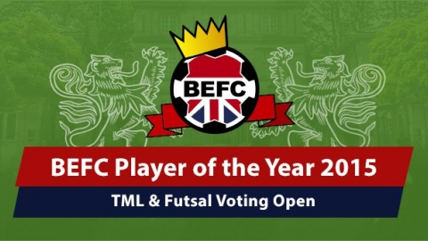 BEFC Player of the Year awards 2015 Voting