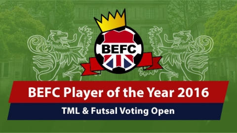 BEFC POTY Awards 2016