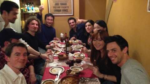 BEFC Spanish Night at Sal Y Amour