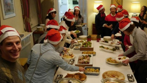 BEFC Christmas Party 2014