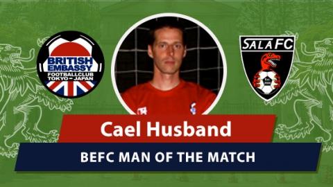 BEFC vs Sala MOM - Cael Husband