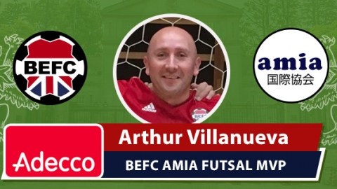 AMIA BEFC Most Valuable Player - Arthur Villanueva