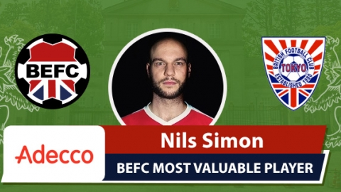 Adecco BEFC Most Valuable Player - Nils Simon