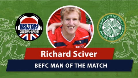 MOM - BEFC vs Kanto Celts - Richard Sciver
