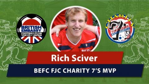 MVP BEFC FJC Sevens - Rich Sciver
