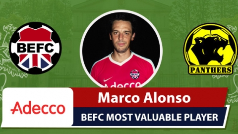 Adecco BEFC Most Valuable Player vs Panthers - Marco Alonso