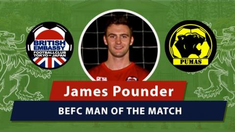 MOM - BEFC vs Pumas - James Pounder
