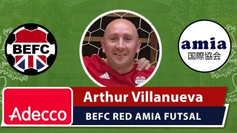 Adecco MVP AMIA Futsal 2016 BEFC Red - Arthur Villanueva