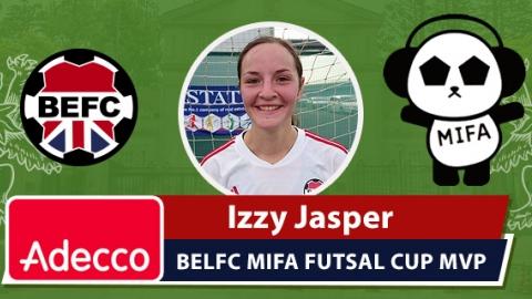 Adecco BEFC MVP Award - Izzy Jasper