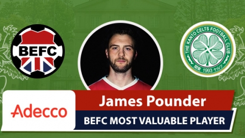 Adecco BEFC Most Valuable Player vs Kanto Celts - James Pounder