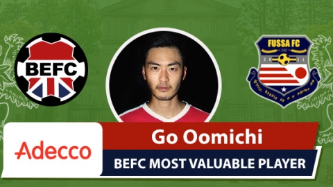 Adecco BEFC MVP vs Fussa - Go Oomichi