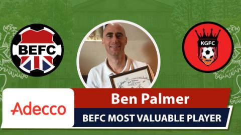Adecco BEFC MVP vs King George - Ben Palmer