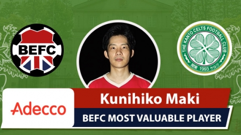 Adecco BEFC MVP vs Real Celts - Kunihiko Maki