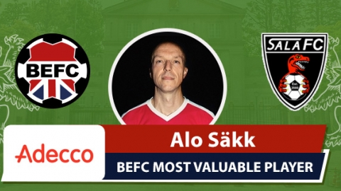 Adecco BEFC Most Valuable Player vs Sala - Alo Säkk