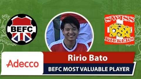 Adecco MVP BEFC vs Swiss Kickers - Ririo Bato
