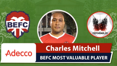 Adecco BEFC MVP vs K2 Expendables - Charles Mitchell