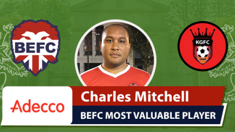 Adecco MVP BEFC Lions vs King George - Charles Mitchell