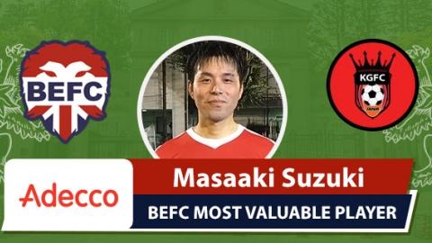 Adecco BEFC MVP vs King George - Masaaki Suzuki