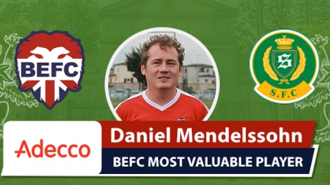Adecco BEFC Most Valuable Player vs Shane FC - Daniel Mendelssohn