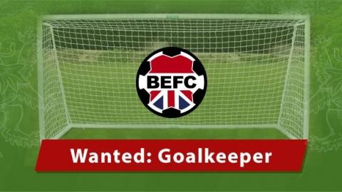Embassy Football Club seeks Tokyo Goalkeeper
