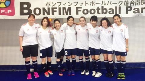 BEFC Ladies at Bonfim Ladies 5 aside Futsal Tournament