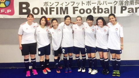 BEFC Ladies at Bonfim Ladies 5 aside Futsal Tournament