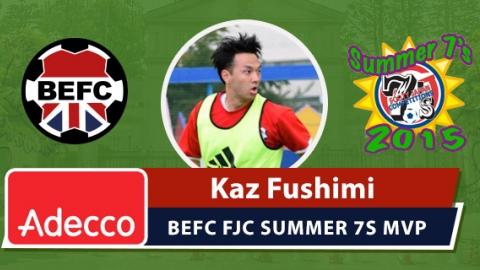 FCJ Summer 7s Adecco MVP - Kaz Fushimi